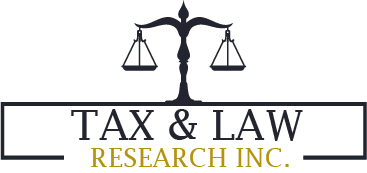 Tax and Law Research INC